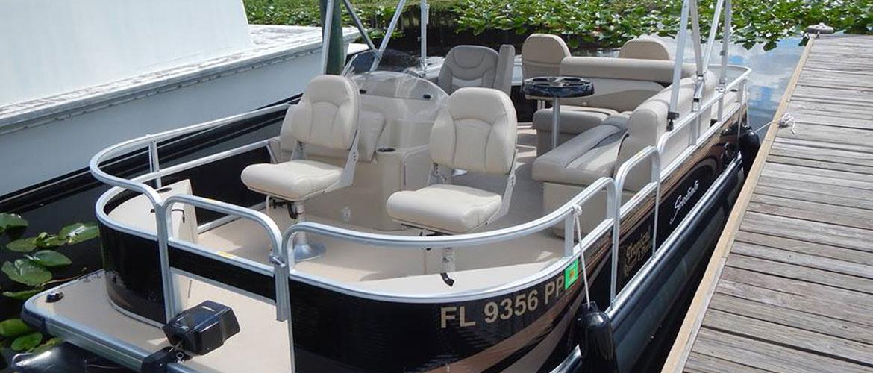 St John S River Boat Rentals Tropical Resort Marina